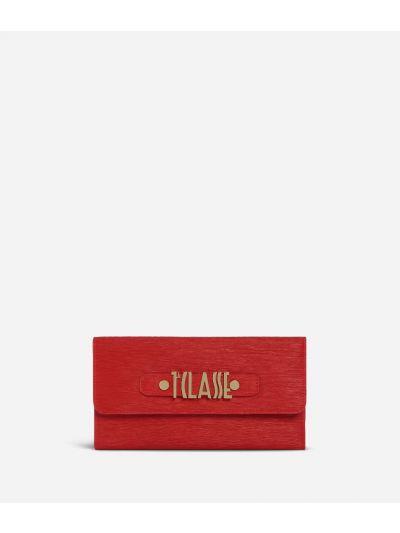 Voyage Smile Bifolder Wallet Red