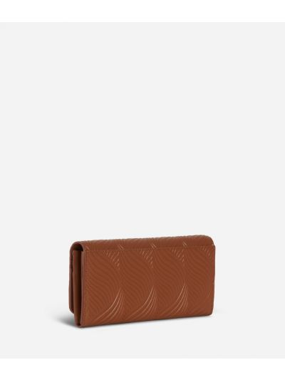 Majorelle Wallet in cowhide leather Brown