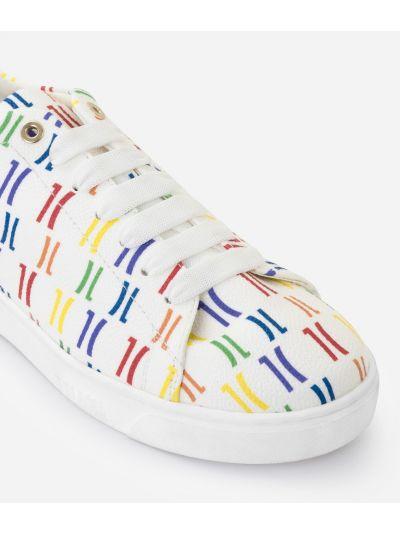Monogram Rainbow Sneakers Multicolor