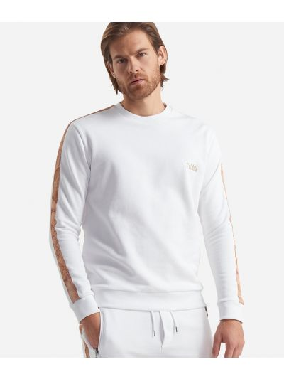 Cotton sweatshirt White
