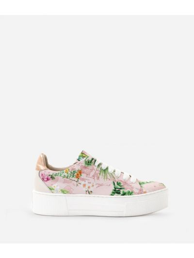 Sneakers in tessuto stampa Geo Classic